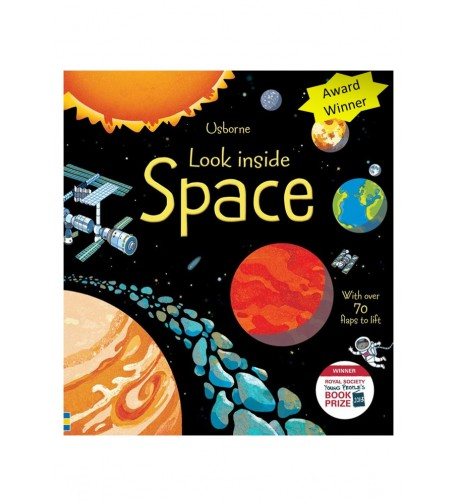 Look Inside Space- USBORNE