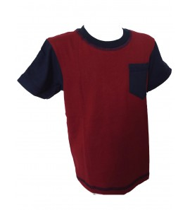 Infants T Shirt Red Blue